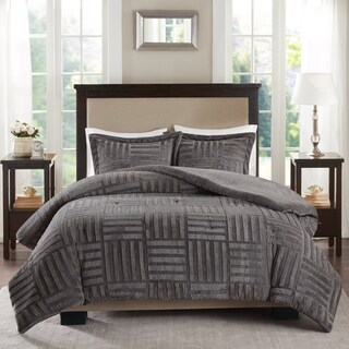 Madison Park Polar Fur Down Alternative Comforter Mini Set