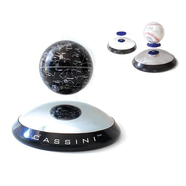 Cassini Gravitator With Levitating Constellation Globe And