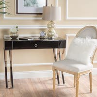Brilee Glass Console Table by Christopher Knight Home