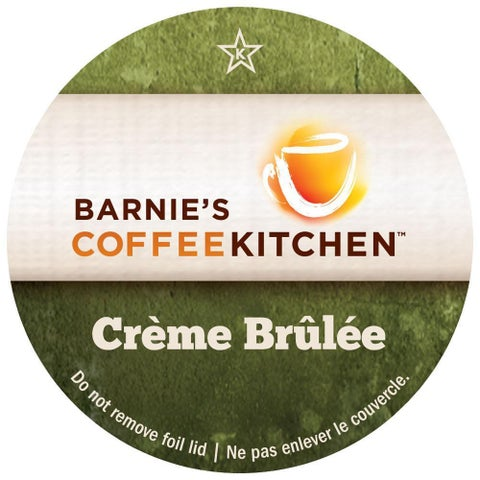 Barnie's Coffee Kitchen Crème Brûlée Single Serve K-Cup Brewers Pack