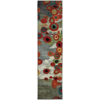 Mohawk Home Tossed Floral Multi Area Rug (2' x 8')