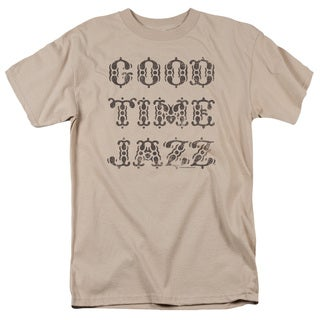 Retro Good Times Short Sleeve Adult T-Shirt 18/1 in Sand