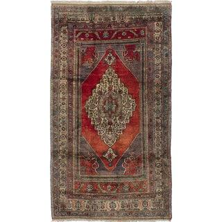 Ecarpetgallery Anatolian Vintage Red Wool Rug (5'2 x 9'2)