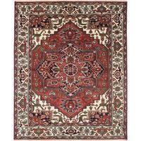 Ecarpetgallery Serapi Heritage Brown Wool Rug