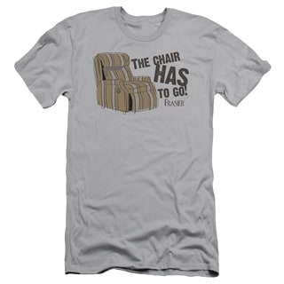 Frasier/The Chair Short Sleeve Adult T-Shirt 30/1 in Silver
