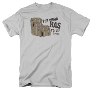 Frasier/The Chair Short Sleeve Adult T-Shirt 18/1 in Silver