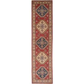 Ecarpetgallery Finest Gazni Red Wool Rug (2'6 x 10'8)