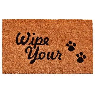 Wipe Your Paws Doormat (1'5 x 2'3)
