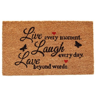 Live Every Moment Doormat (1'5 x 2'3)