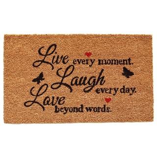 Live Every Moment Doormat (1u00275 X ...