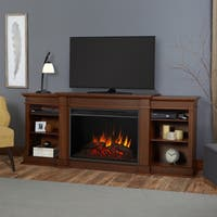 Eliot Vintage Black Maple Grand Electric Fireplace by Real Flame