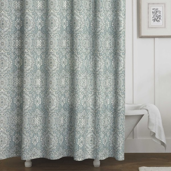 Laura Ashley Ardleigh Cotton Shower Curtain