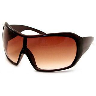 UrbanSpecs DYVS609C-BB Shield Brown Gradient Sunglasses