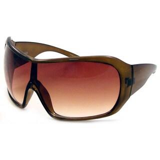 UrbanSpecs DYVS609C-GB Shield Brown Gradient Sunglasses