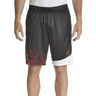 Lotto Men's Polyester Graphic Design Pull-on Training Shorts (Option: S)