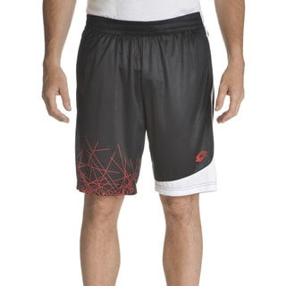 Lotto Men's Polyester Graphic Design Pull-on Training Shorts