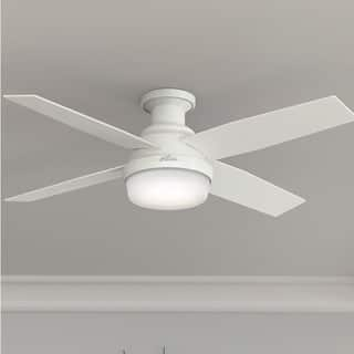 mazon com mount lighting with at accessories harbor kit indoor in fans ceiling pl led breeze shop flush fan integrated lowes light