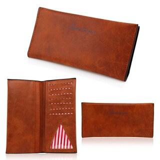 Gearonic Fashion Women Flip PU Leather Long Wallet Clutch Card Holders