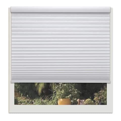 Linen Avenue Custom Cordless 44 to 45-inch Wide Crystal Light-filtering Cellular Shade