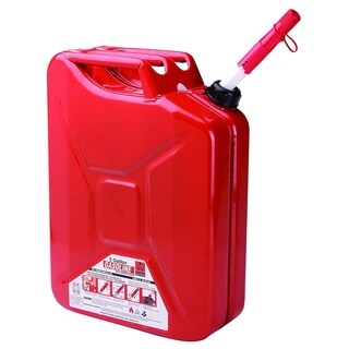 Midwest Metal 5-gallon Auto Shutoff Jerry Can