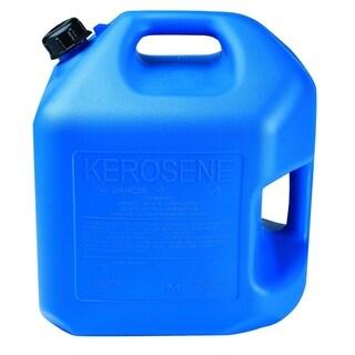 Midwest Blue HDPE 5-gallon Auto Shutoff Kerosene Can