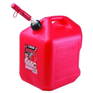 Red Polyethylene Auto Shutoff 5-gallon Gasoline Can