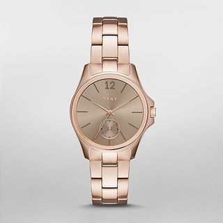 DKNY Women's NY2518 'Eldridge' Rose-Tone Stainless Steel Watch