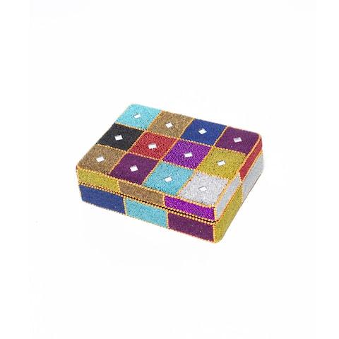 Handmade Rajashtani Patchwork Box (India)