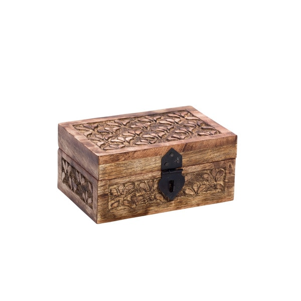 Handmade Botanical Treasure Box - Large (India)