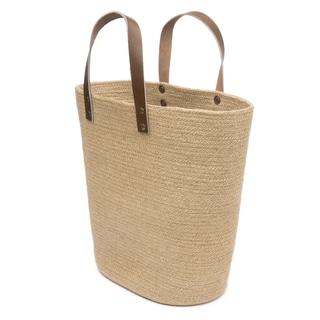 Handmade Jute Shopper Basket (Bangladesh)