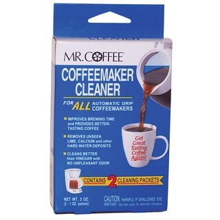 Mr Coffee 470810 Mr. Coffee Coffeemaker Cleaner