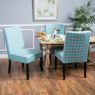 Christopher Knight Home Catania Fabric Dining Chair Set Of 2