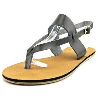 Cape Robbin Women's Alma-FB-10 Faux Leather Sandals