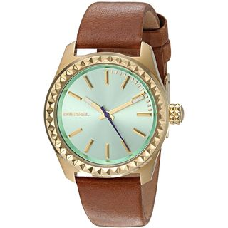 Diesel Women's DZ5511 'Kray Kray' Brown Leather Watch