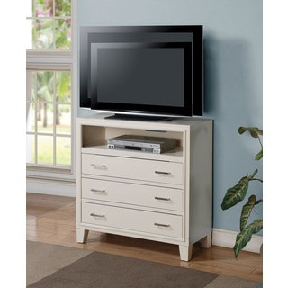 White Tyler TV Console