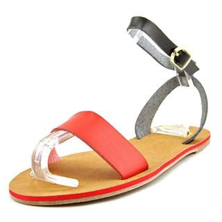 Cape Robbin Women's 'Alma-FB-7' Faux Leather Sandals