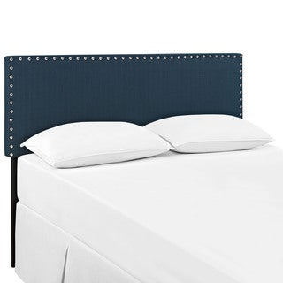 Modway 'Phoebe' Azure Wood Queen Size Upholstered Headboard