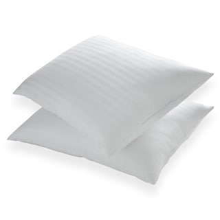St. James Home Memory Foam and Goose Nano Feather Pillow (Set of 2)