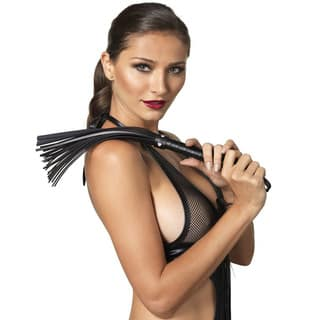 Women's Kink Black Faux-leather Whip|https://ak1.ostkcdn.com/images/products/12453962/P19267577.jpg?impolicy=medium
