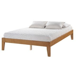 Donco Kids SOVO Medium Oak Finish Platform Bed