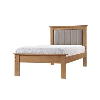 Donco Kids Joshua X Medium Oak Finish Twin Bed