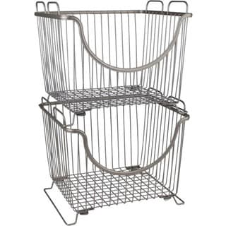 Spectrum Ashley Large Stacking Basket