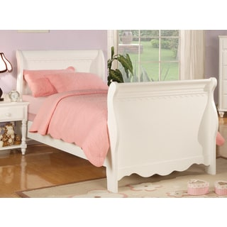 Coaster Company Pepper White Twin Sleigh Bed