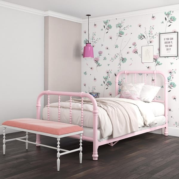 Shop DHP Jenny Lind Metal Twin Bed - Free Shipping Today ...