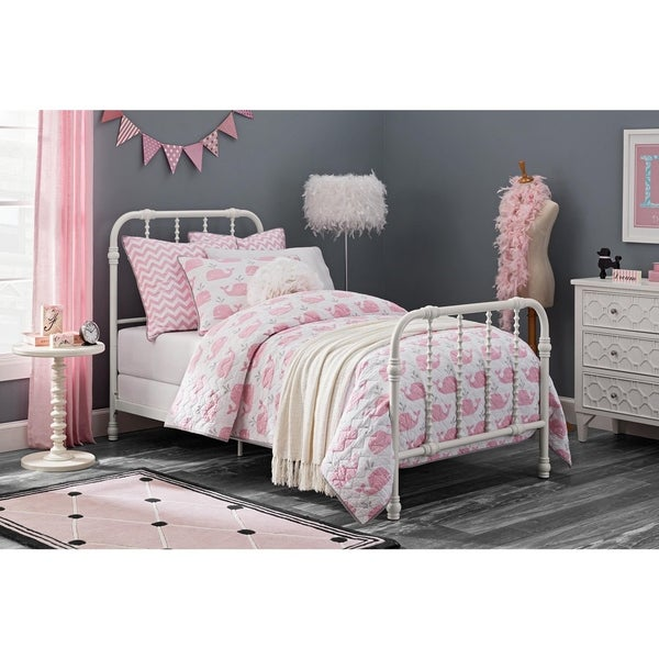 DHP Jenny Lind Metal Twin Bed