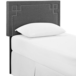 Josie Grey Fabric Headboard
