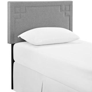 Josie Light Grey Fabric Headboard
