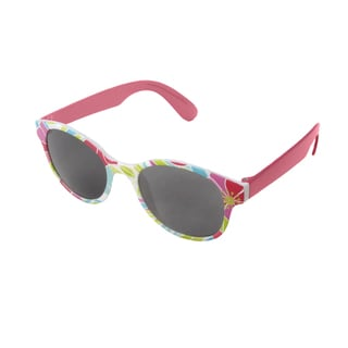 Hot Optix Girl's Round Fashion Sunglasses