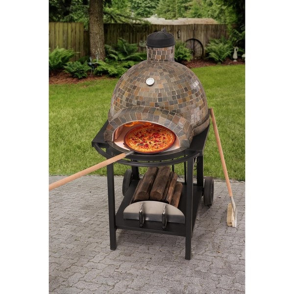 Sunjoy Wood Fired Pizza Oven Free Shipping Today 19267743