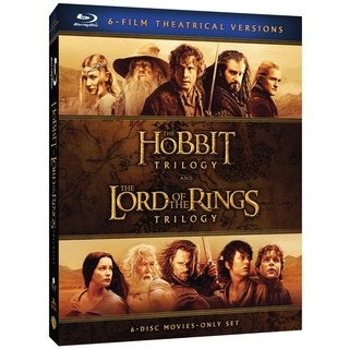 Middle-Earth Theatrical Collection: The Hobbit Trilogy / The Lord of the Rings Trilogy (Blu-ray Disc)